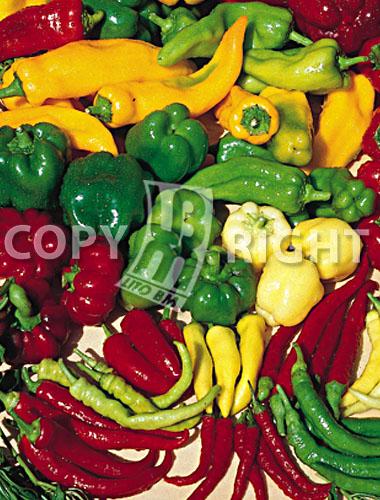 miscuglio di peperoni