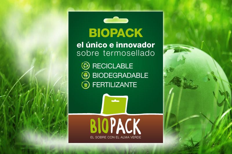 Biopack sobre